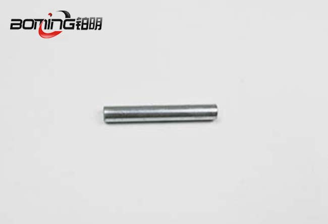 Steel rod with zinc plating